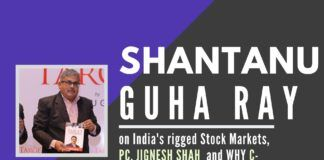 Investigative Journalist and writer on India's rigged Stock Markets, P Chidambaram, Jignesh Shah and why C-Company and Left-Liberal kept targeting him and the cabal that exists in Book Publishing sector