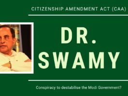 A planned conspiracy to run down India being undertaken in concert with print media and television says Dr. Swamy in this stirring speech. India has been, is and will always be a Hindu Rashtra (Indu-goh as the Chinese refer to India, meaning Hindu Rashtra).