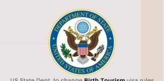 The United States Government is expected to usher in new rules from Friday on visa restrictions for pregnant women who may indulge in birth tourism