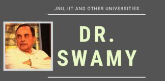 An out-of-the-box suggestion by Dr. Swamy to ensure that all students regardless of their specialization can thrive in universities like JNU, IITs, IISc etc. is proposed in this must-watch lecture.