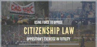 Opposition's have jumped the gun on CAA, NPR, and NRC, They should Practice constitutional process rather than protest to arm-twist the Union government by threats of non-implementation or violence.