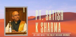 Hangout with Pt Satish K Sharma on what he sees in 2020 for the UK, Hindutva and the World. 12 months to finish BREXIT deal and a view on how the BREXIT blockers faced in the recent elections... Also touched is the new lows the British media (esp. BBC) are plumbing
