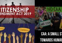 CAA: A small step towards Humanity