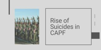The number of suicides in the CAPF have gone up and the MHA is working on addressing this, said the Min of State for Home