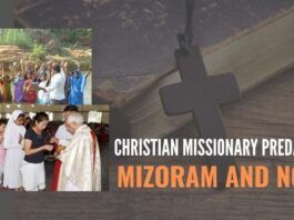 Christian missionary predators of Mizoram -- and Noida!