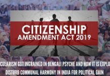 True secularism is justice for all and appeasement for none. But, for the opposition politicians, it actually means appeasement of minorities because it is necessary for vote bank politics.