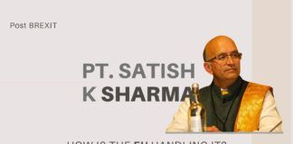 In this engrossing episode, Pt. Satish Kumar Sharma looks at what Brexit means to the European Union and why no one asked the EU what happens if UK leaves. How Sanatana Dharma can show the way for the world is also discussed.