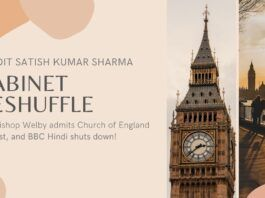 Is the United Kingdom outsourcing the running of the country to people of Indian origin? New FinMin is Son-in-Law of N R Narayana Murthy, Rishi Sunak. Archbishop Welby admits that the Church of England is racist and BBC Hindi service has been shut down!