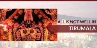 All is not well in Tirumala!