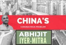 Abhijit Iyer-Mitra's take on what could have happened in Wuhan and why the Chinese have restarted production when the rest of the world is in lockdown. A must watch!