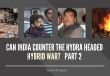 Delhi Riot was perhaps test case of Phase III wherein armed violence and gunshots complimented stone-pelting, which completely exposed the sheer lack of preparedness of India's internal security agencies so far as dealing with this new hydra of hybrid warfare is concerned.