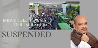 Centre cracks the whip - two officers of the Delhi state administration issued SCN and two suspended
