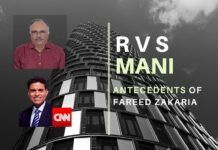 Fareed Zakaria was accused of plagiarism and miraculously escaped being fired from CNN. RVS Mani traces his antecedents and his anti-Hindu bias and why