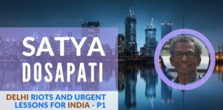 Satya Dosapati describes in a step-by-step manner the global forces that are arrayed against India and the urgent steps it needs to take today.