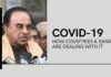 Subramanian Swamy writes to the PM detailing the efforts of various countries (and two banks) on fighting the Covid-19 pandemic