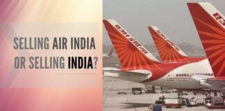 Govt through cabinets nods to allows 100% ownership by NRIs in the Air India through FDI.