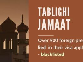 The congregation of Tablighi Jamaat was illegal and those preachers who lied about their purpose of the visit have been permanently blacklisted