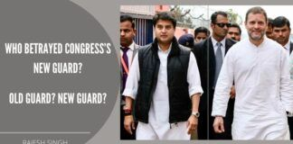 Rahul Gandhi allowed the crisis to worsen over the past months and eventually explode. New guards feel betrayed by the messiah Party President.