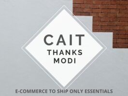 Bowing to the request of CAIT, GOI orders E-Commerce companies to only ship essential goods during the lockdown period