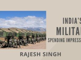 The government has repeatedly assured that funds would not be a constraint, but it would be nice to see that reflected in more robust defence budgets.
