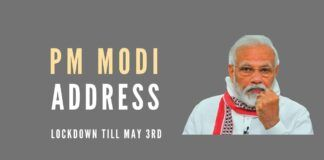 PM Modi urged you to follow the rules of lockdown with utmost sincerity until 3rd May.