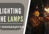In Bhaarateeya Samskaara (culture) lighting the lamp has great significance apart from just removing the darkness and the first thing we practice is lighting an oil lamp.
