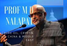 Beginning with Henry Kissinger's suggestion to the Shah of Iran to raise petrol prices, which led to the formation of OPEC, then the US-Russia exchanges, and now the battle for #1 in the world between US and China, Prof M D Nalapat weaves an exquisite narrative that you do not want to miss!