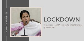 Centre raps Mamata-led West Bengal government for flouting lockdown restrictions