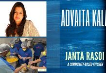 Advaita Kala describes how a group of seven motivated individuals came together to start the Janta Rasoi initiative that has been supplying free food for the needy in and around Gurugram area. A must watch!