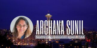 Archana Sunil relates her experience of how a surprise resolution was moved by Kshama Sawant against India for its CAA and how Sanatanis came out in support of it. A must watch, as this will repeat.