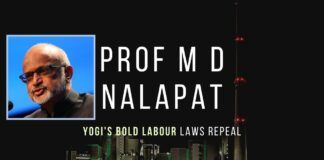 A critical look at the repeal of labour laws by the Yogi Adityananth government and the impact of the changes being rolled out as part of the 20L crore package by the Modi government. Don't miss!