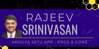 Rajeev Srinivasan takes an in-depth look at the app Aarogya Setu and dissects its positives and negatives and what other countries have done with similar apps. Also exposes the hypocrisy of Congress over data Privacy foul cry