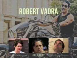 In a wide-ranging sentiment expressed by Congress party workers, Robert Vadra is the #1 liability for Congress