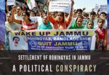 The UNHCR visited Rohingya habitations in Jammu and asked them to leave, promising funds to settle them elsewhere. They refused, saying they won't leave as they are used to Jammu and know everyone over here.