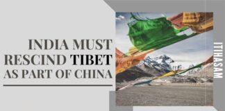 India in a sense can be considered as a mother, which gave birth to the beautiful culture of Tibet where the same stream of consciousness flows between the two entities