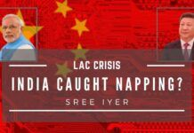 While India was grappling with the COVID-19 crisis was caught napping, China appears to have waded into Indian territory in at least 4 locations