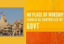 """Its time to """"Take Control"""" of our temples or we will continue to be looted, plundered & destroyed. We have to work to quell this insatiable appetite of the government"""