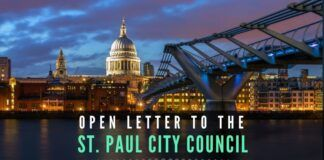 St. Paul is the third city in the United States to have passed Resolution 20-712, after Seattle, WA, and Cambridge City, MA.