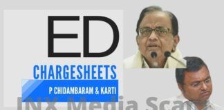After much delay, the Enforcement Directorate has also charge-sheeted Chidambaram and Karti in the INX Media case