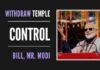 BJP has always stood devotees' control of temples... Modi should know from his past experience and withdraw the Uttarakhand Temple Control Act