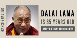 The Dalai Lama may be the last chance for India to regain a friendly border between herself and the Chinese enemy, and time is running out.