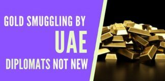 UAE diplomats have been caught previously too for smuggling in gold in diplomatic baggage.