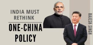 China always flaunts its One-China policy. India has been traditionally indulgent on this count, despite the fact that China has never acknowledged the One-India policy