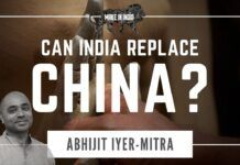 Abhijit Iyer-Mitra outlines the challenges for India to meet its own requirements and not depend on China and how years of red tape and people working at cross purposes has practically brought its manufacturing down to its knees. Where should things be reset, how to restart India to be the manufacturing powerhouse are discussed in-depth. Don't miss watching this till the end!