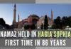 President Trump and Joe Biden both have not spoken on Hagia Sophia to the best of my knowledge