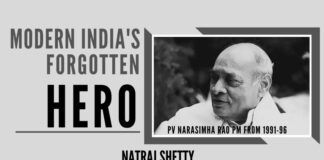After Rajiv Gandhi's assassination, PV Narasimha Rao the senior Congress leader was chosen as PM, Rao turned the dark horse and was the right choice, for his ability to take others along with vast experience