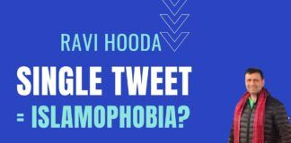 A genuine tweet to the Mayor questioning the new bylaw painted Ravi Hooda into an Islamophobe without any investigation or background check. Ravi Hooda explains his side never heard before and the plight that could happen to anyone and why the silent majority needs to speak up