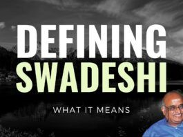 How would you consider anything as Swadeshi? Prof RV highlights some more of the basis that needs to considered to define any product or company as Swadeshi or Foreign