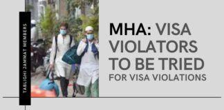 Tablighi Jamaat preachers violated visa norms