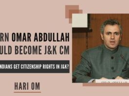 Omar Abdullah overlooked the fact that he became MP and Union Minister and MLA and J&K CM despite the fact that he was born in the UK. The fact of the matter is that this pro-autonomy demands immediate revocation of the domicile order and domicile rules